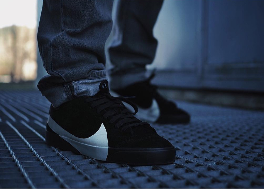 Nike Blazer City LX Low Black - @boby30100