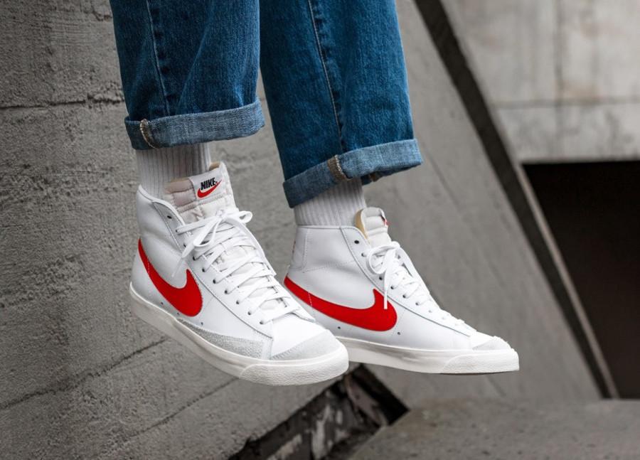 Nike Blazer Mid 77 VNTG Habanero Red White