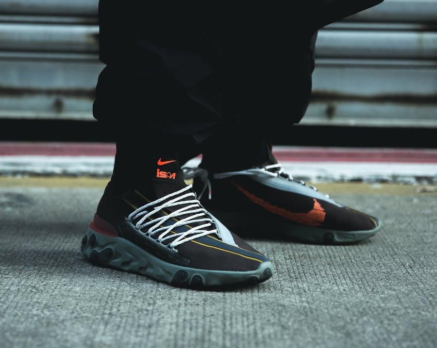 Nike Ispa React WR Velvet Brown Terra Orange (AR8555-200) (2)