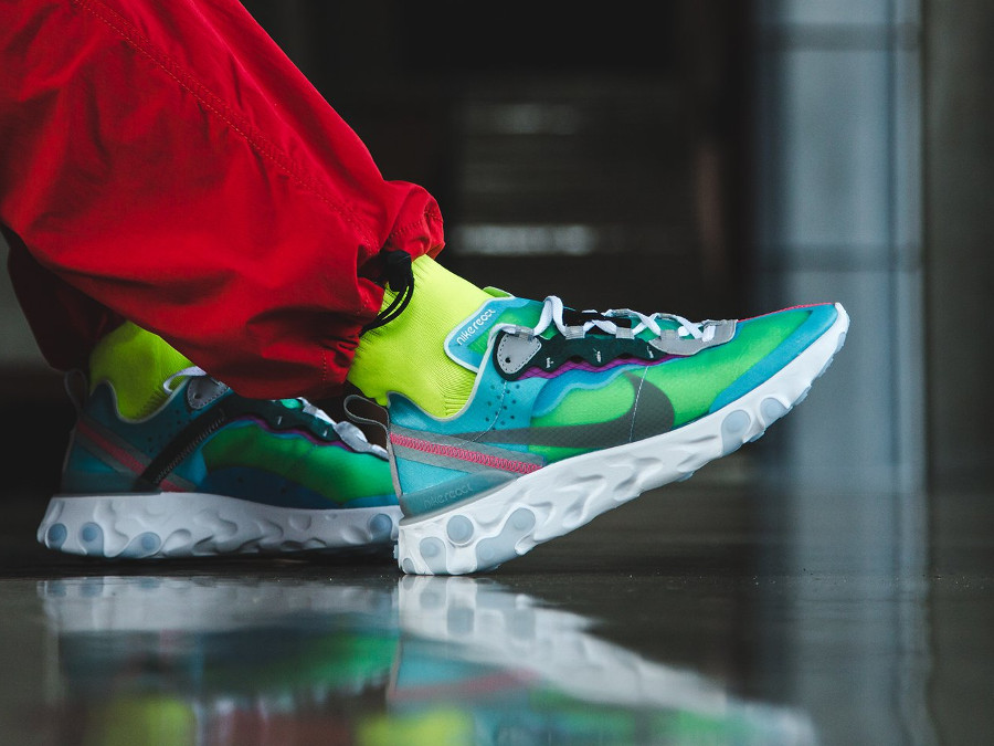 Nike React Element 87 Royal Tint South Beach