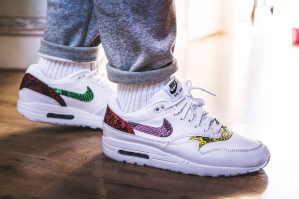 Nike Wmns Air Max 1 PRM Animal Snake White Multicolor