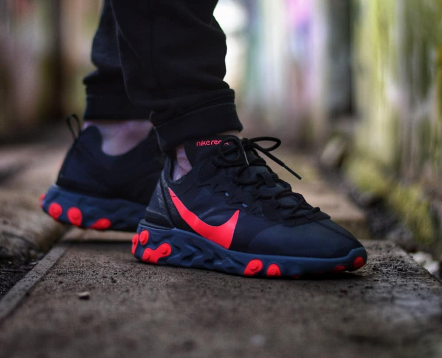 Nike Wmns Element 55 Black Solar Red - @apollo91000 (1)