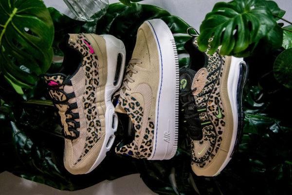 Nike Womens Leopard Print Pack Desert Ore