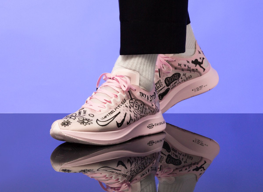 Nike Zoom Fly SP Fast Nathan Bell rose Pink Foam