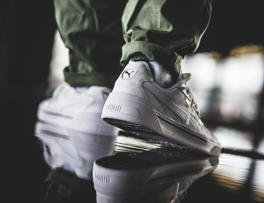 Puma California 2019 blanche et verte (1)