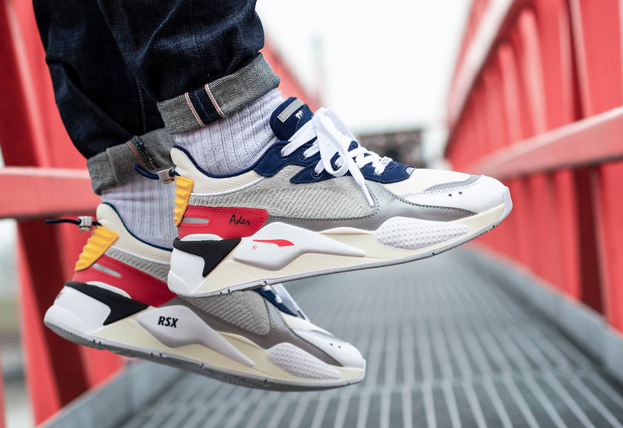Ader Error x Puma RS-X 'Forever Youth' Whisper White Blueprint Red