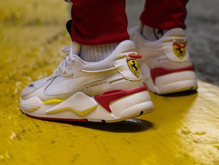 Faut il acheter la Puma SF RS X blanche Trophy Ferrari White ?