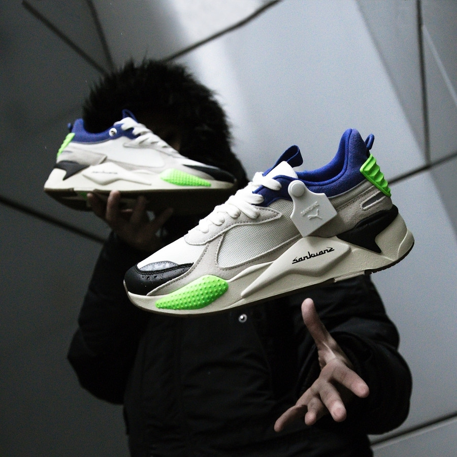 Sankuanz x Puma RS-X 'Cloud Cream Royal Blue' (2)