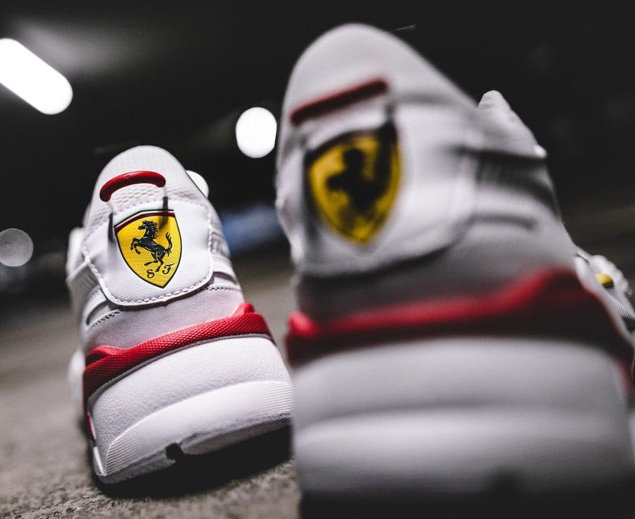 Scuderia Ferrari x Puma RS-X Trophy White Rosso Corsa (5)