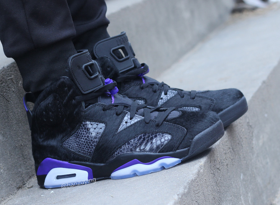 Social Status x Air Jordan 6 Retro Pony Hair & Snakeskin (3)