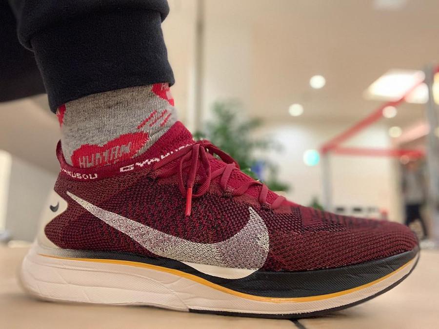 Undercover x Nike Vaporfly 4% Flyknit Gyakusou Team Red (2)
