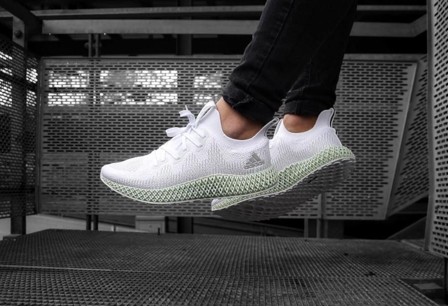 Adidas Alphaedge 4D 'FTWR White Linen Green' (1)