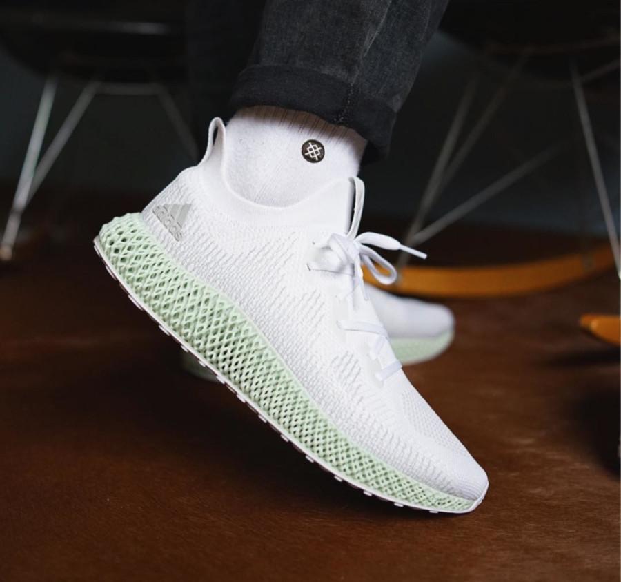 Adidas Alphaedge 4D 'FTWR White Linen Green' (3)