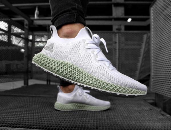 Adidas Alphaedge 4D 'FTWR White Linen Green' (4)