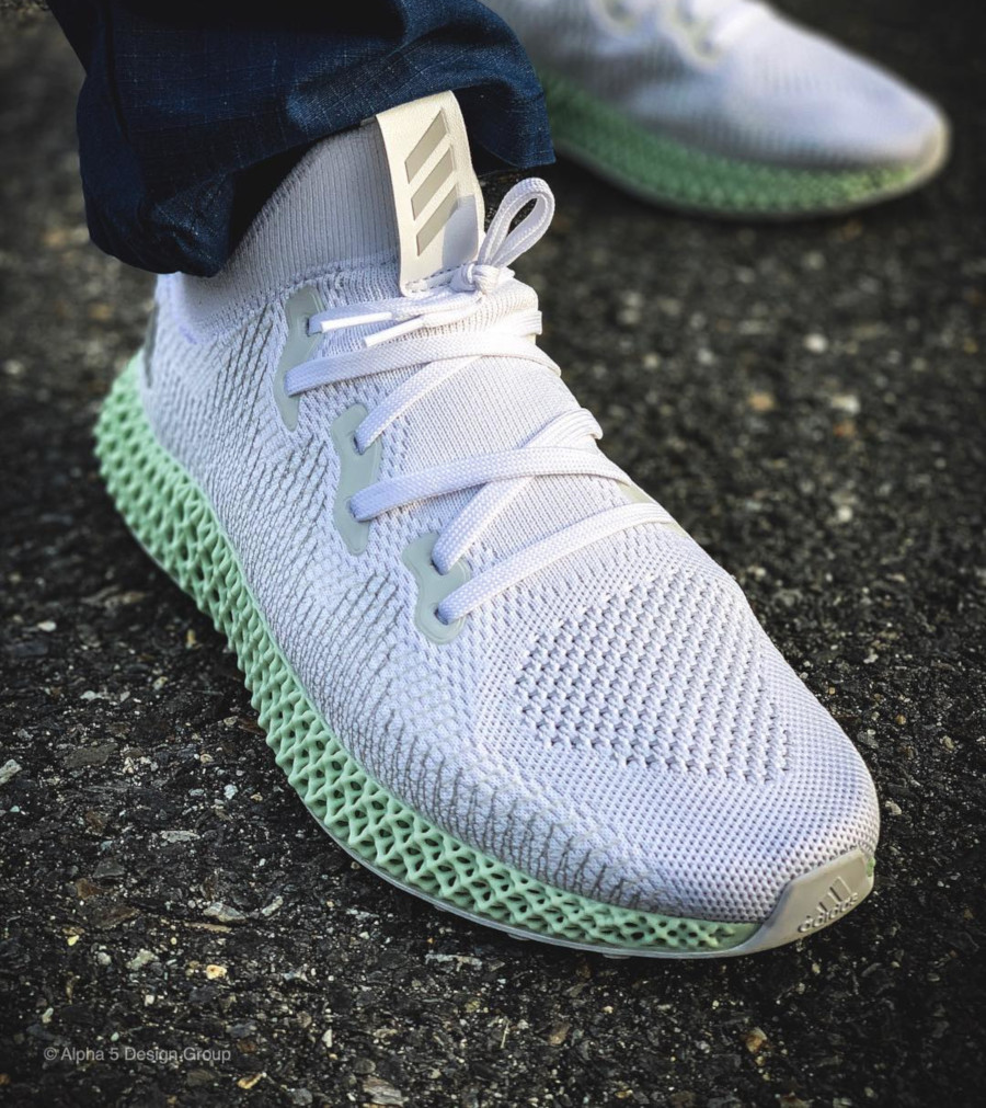 Adidas Alphaedge 4D Futurecraft White CG5526 (2)