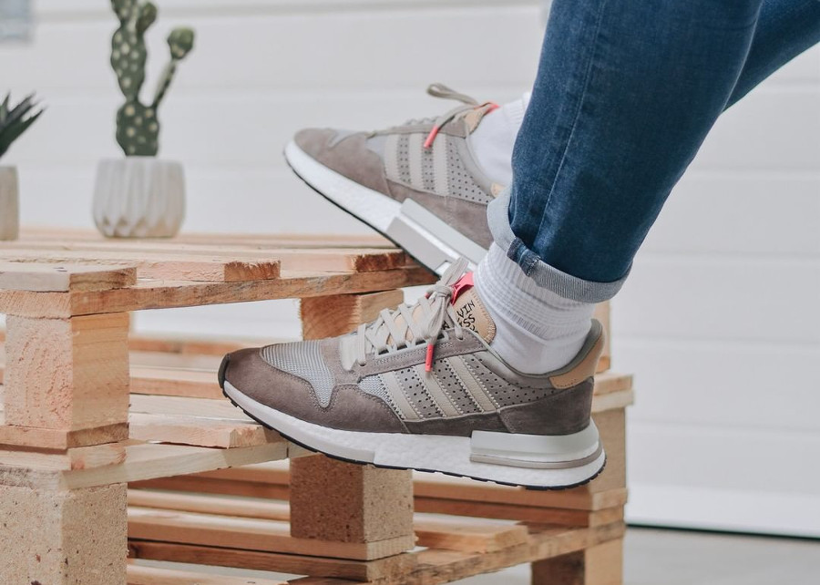 Adidas Consortium ZX 500 RM 'Kelvin Scale' Simple Brown