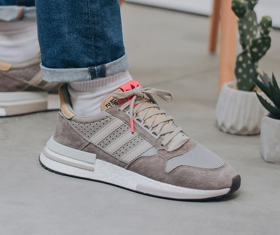 Adidas Consortium ZX 500 RM 'Kelvin Scale' Simple Brown Light Brown (1-2)