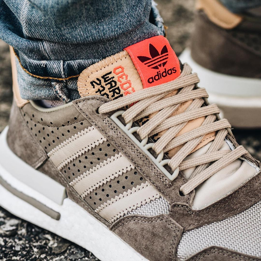 Adidas Consortium ZX 500 RM 'Kelvin Scale' Simple Brown Light Brown (2)