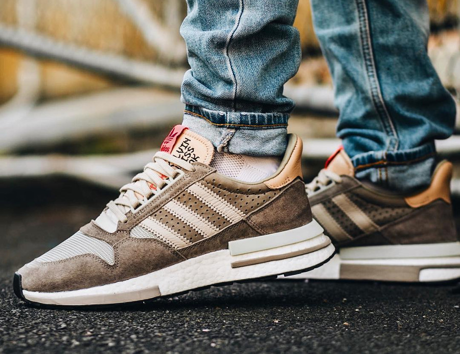 Adidas Consortium ZX 500 RM 'Kelvin Scale' Simple Brown Light Brown (4)