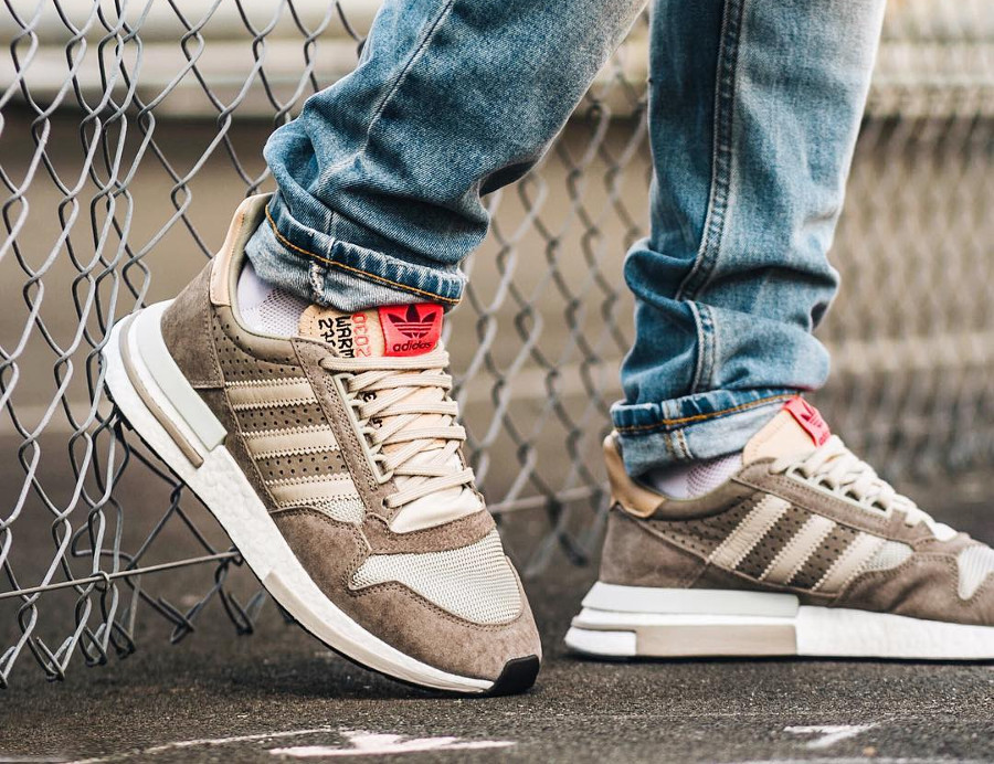 Adidas Consortium ZX 500 RM 'Kelvin Scale' Simple Brown Light Brown (5)