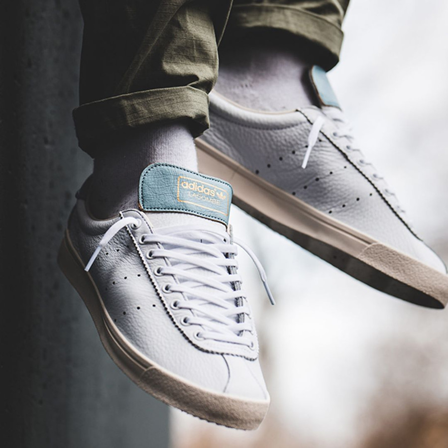 Adidas Lacombe 2019 blanche White Ash Grey
