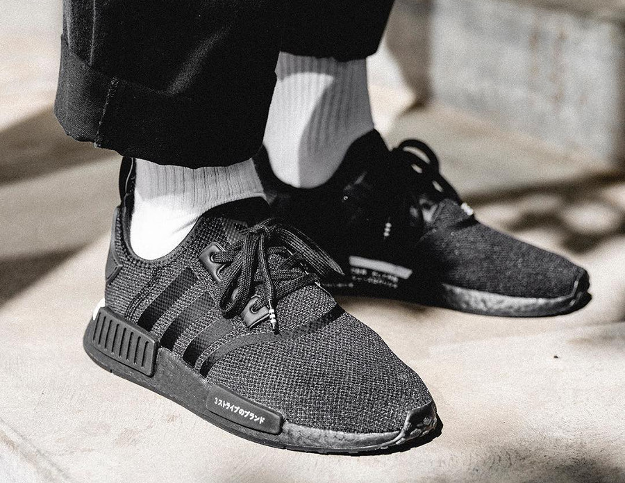 Adidas NMD_R1 Japan Boost 2019 'Core Black'