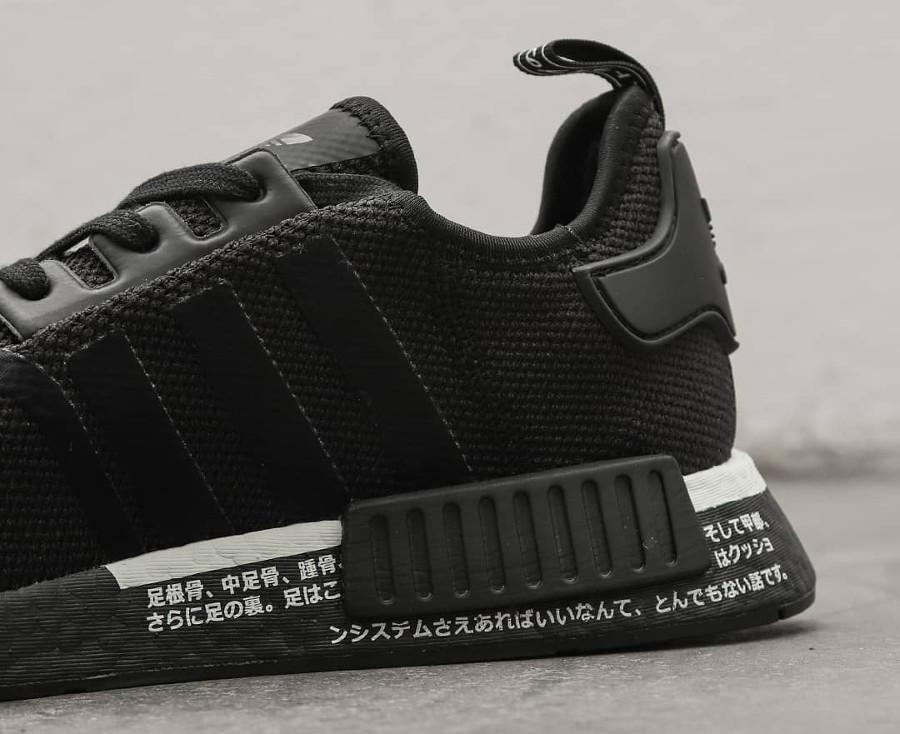 Adidas NMD_R1 Japan Boost 2019 noire Core Black (2)