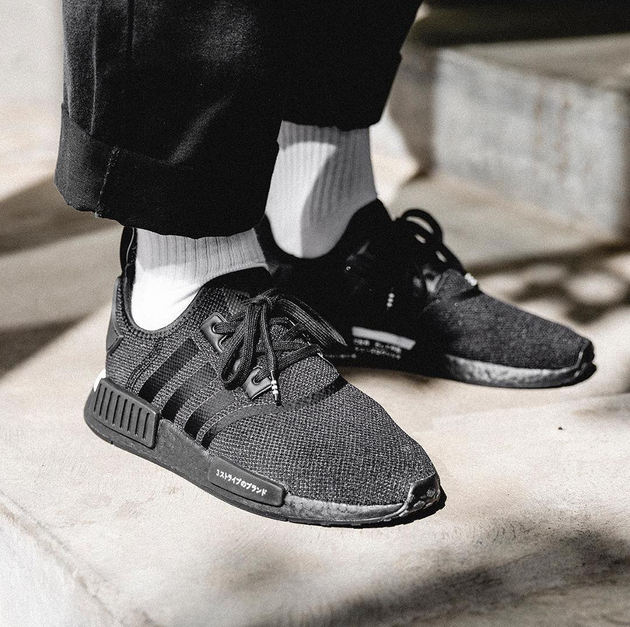 Adidas NMD_R1 Japan Boost 2019 noire Core Black (3)