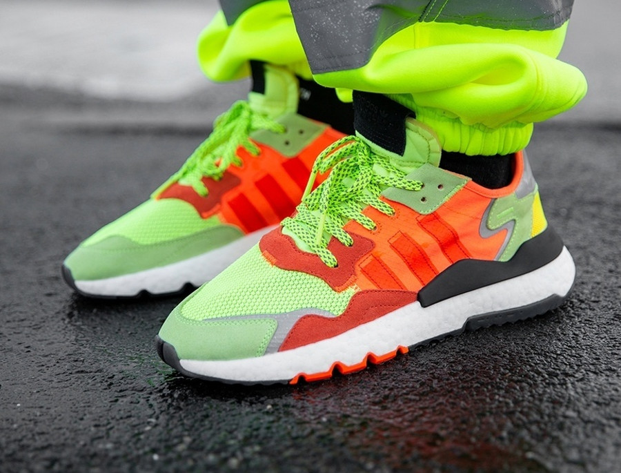 Size? x Adidas Nite Jogger Road Safety