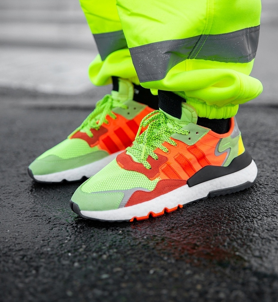 Adidas Nite Jogger Boost 2019 Size Road Safety