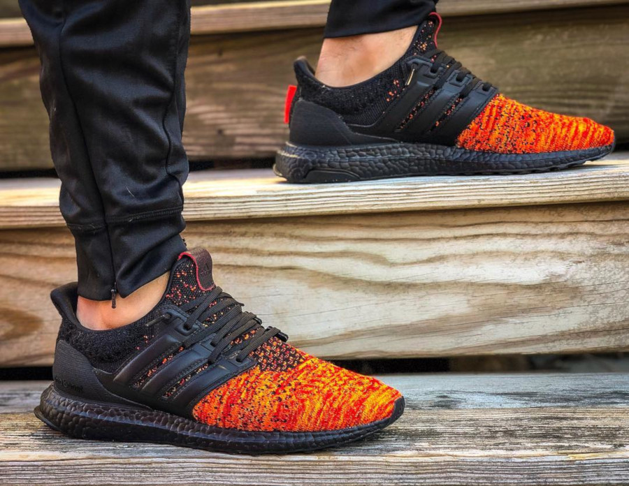 Adidas Ultra Boost GOT Targaryen Dragons EE3709