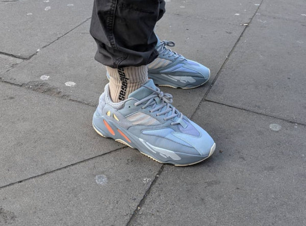 huge sale e5a3e c4713 Adidas Yeezy Boost 700 V1 Inertia Wave Runner