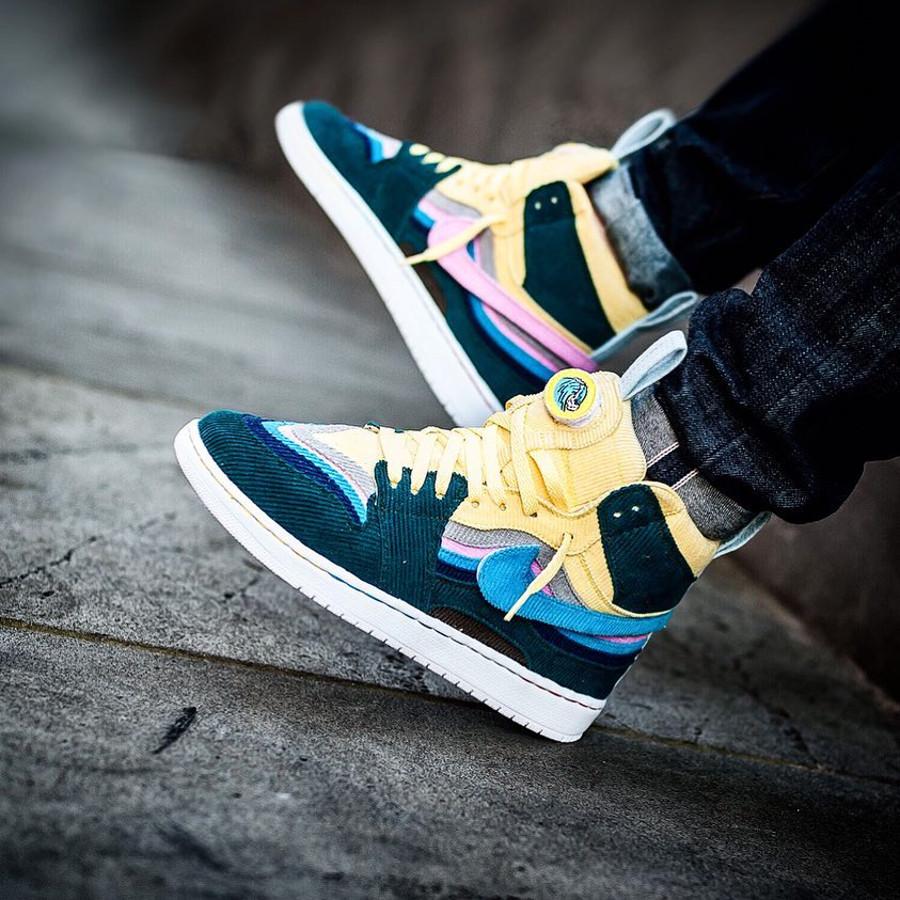Air Jordan 1 SW Corduroy - @sneakersjeansts