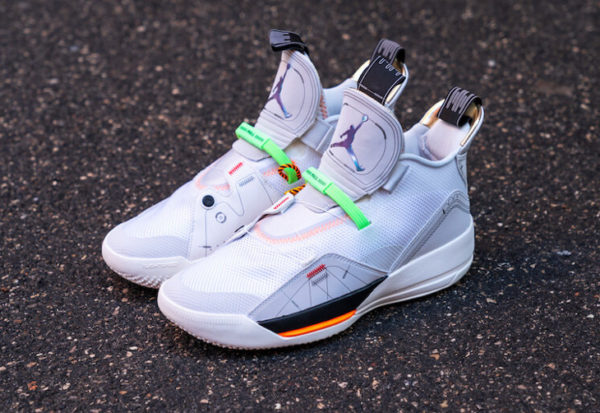 Air Jordan XXXIII 'Off White' Vast Grey AQ8830-004
