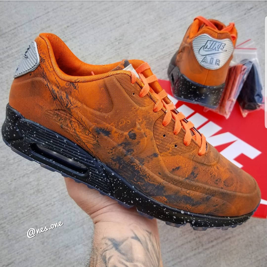 Air Max 90 Mars Stone Magma Orange (1-1)