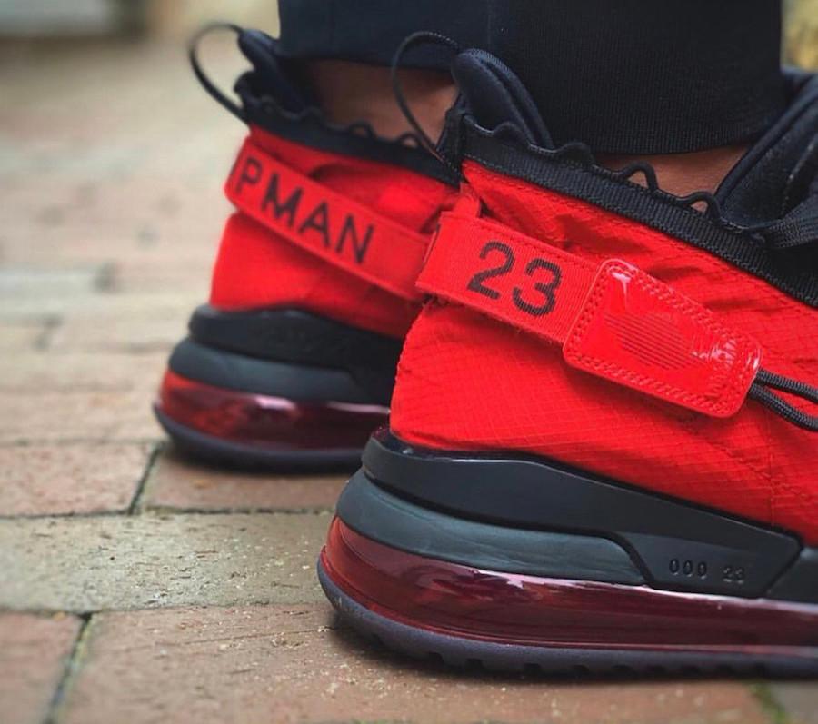 Jordan 720 Proto Max rouge et noire (1)