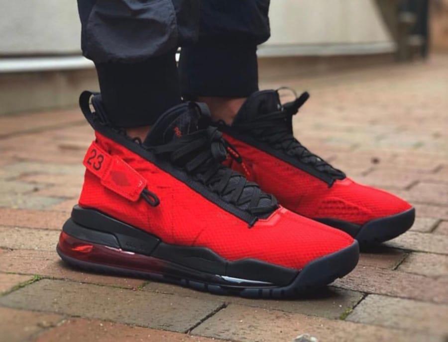 Jordan 720 Proto Max rouge et noire (3)
