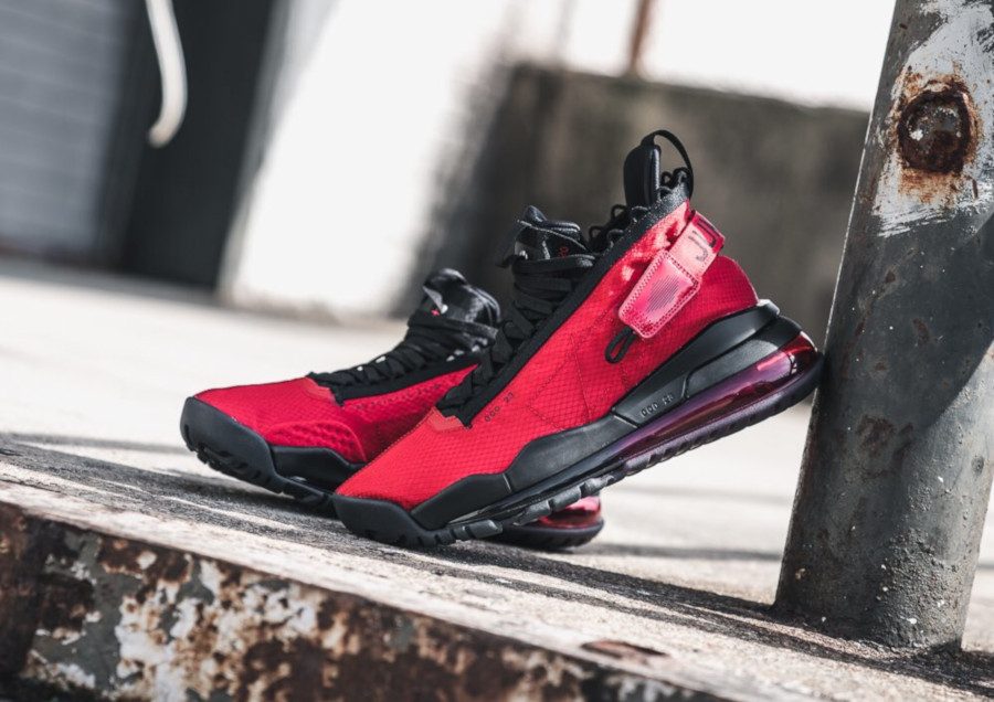 Jordan 720 Proto Max rouge et noire (5)