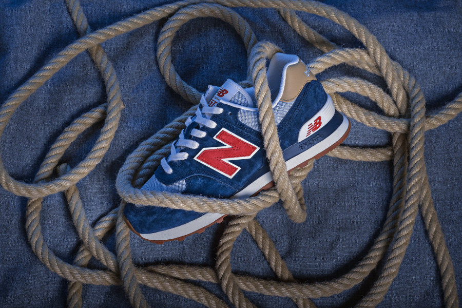 New Balance ML574PTR Navy Red Beach Cruiser