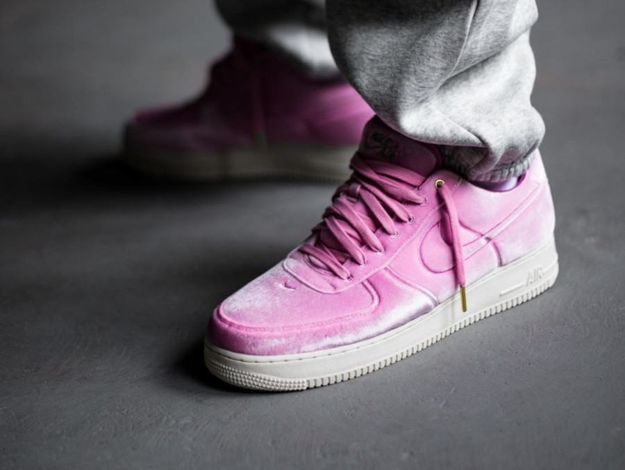 Nike Air Force 1 '07 Premium 3 'Velvet' Pink Rise Sail