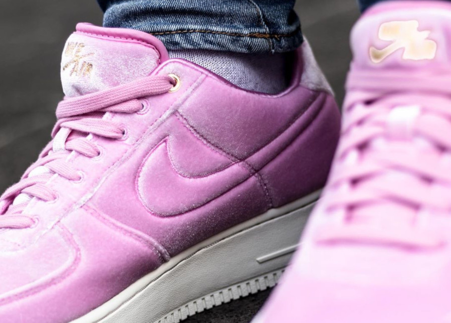 Nike Air Force 1 '07 Premium 3 'Velvet' Pink Rise Sail (5)