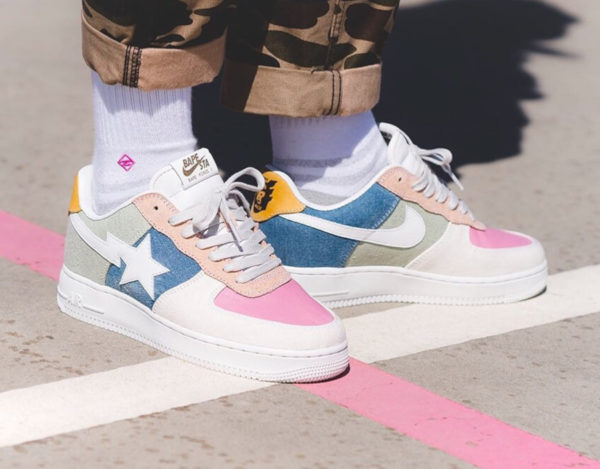 Nike Air Human Made Bape Force 1 Homage To Nigo - @lucasblackman