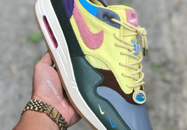 Nike Air Max 1 Sean Wotherspoon - @carmeno_custom (couv)