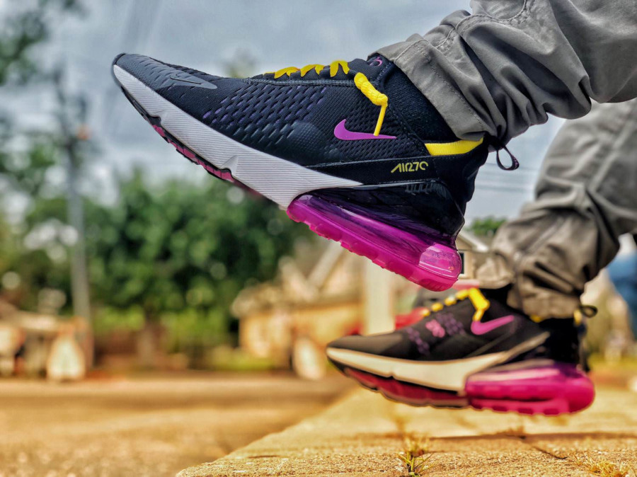 Nike Air Max 270 Black Grape - @Weenyhand