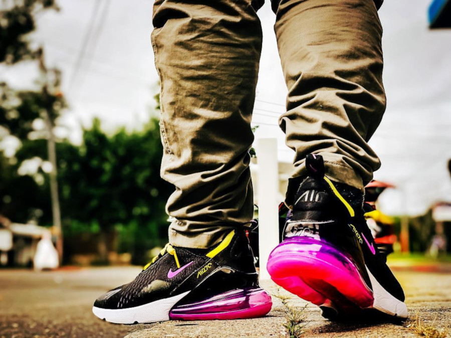 Nike Air Max 270 Black Grape - @justinwithaj