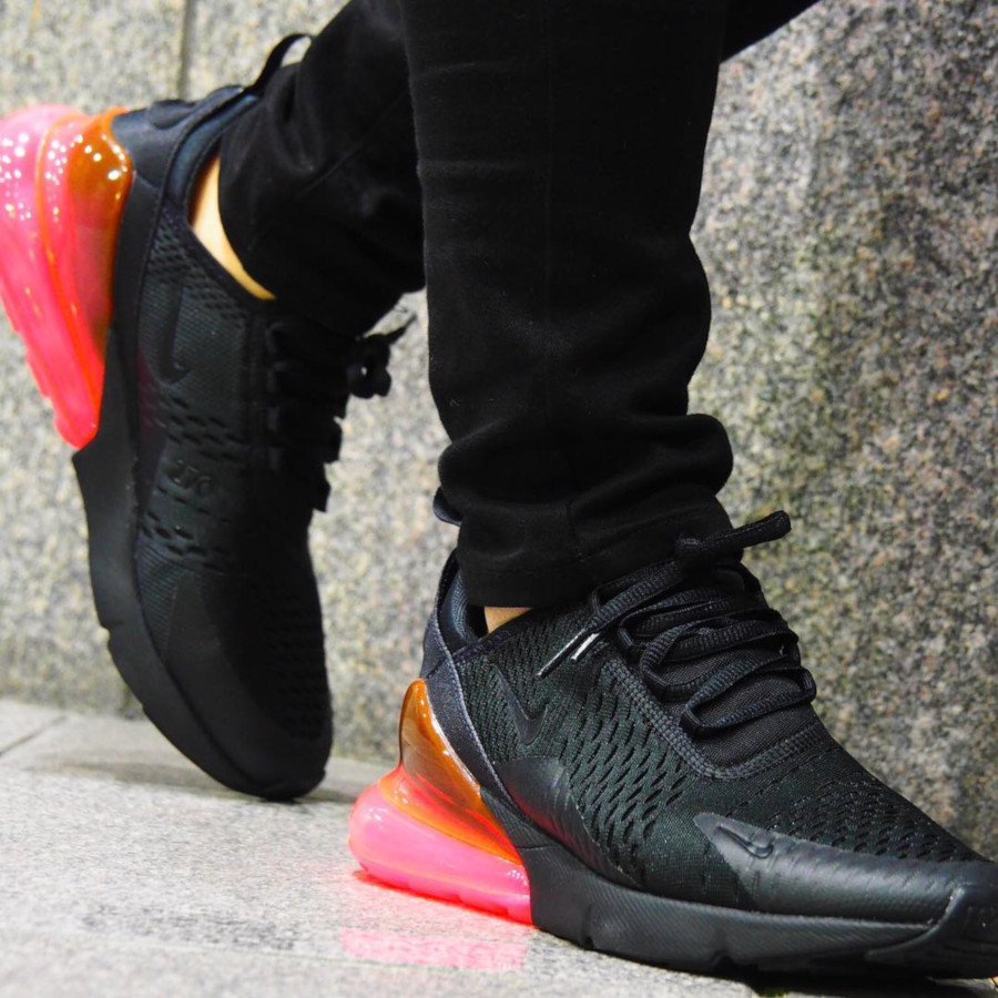 Nike Air Max 270 Black Hot Punch - @mogastar
