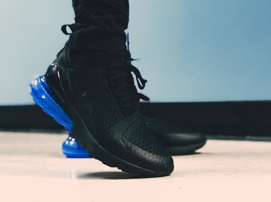 Nike Air Max 270 Black Photo Blue - @rezyy013
