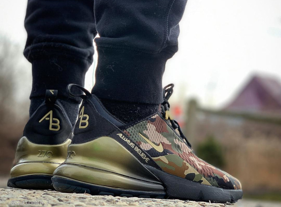 Nike Air Max 270 Doernbecher Freestyle Allways Believe Aiden Barber - @djtonka_