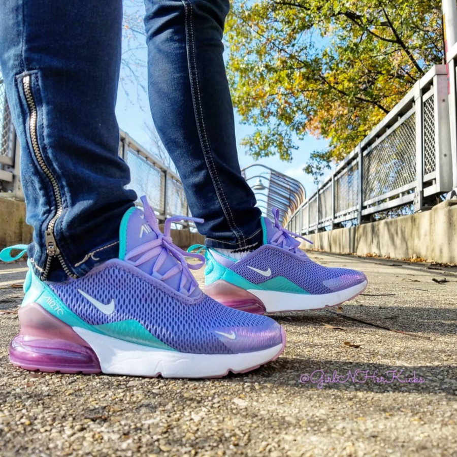 Nike Air Max 270 GS Unicorn Gel - @girlnherkicks