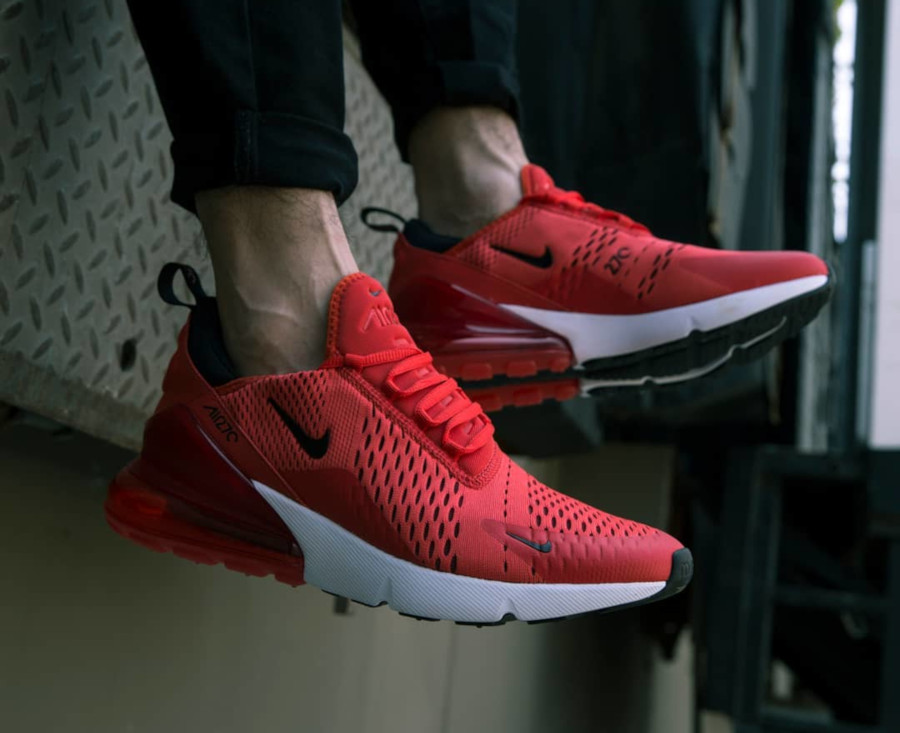 Nike Air Max 270 Habanero Red - @shiekh